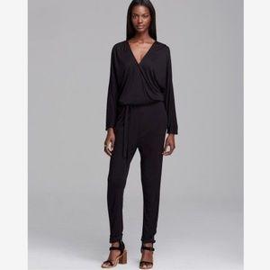 Joie Soft Paltrow Black Jumpsuit